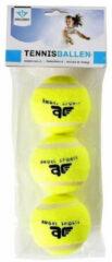 Gele Merkloos / Sans marque Tennisballen setje 15x