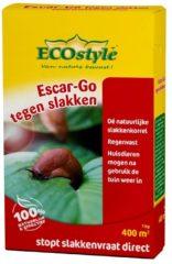 ECOstyle Slakkenkorrels Escar-Go - Tegen slakken - doos - 1kg