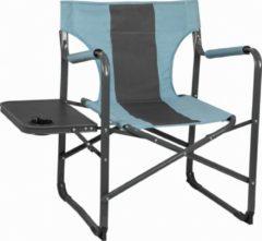 """Blauwe Capture Outdoor, Comfort Stoel, Deluxe """"Relax CR-136"""" Campingstoel, met opklapbare zijtafel, geïntegreerde bekerhouder, …"""
