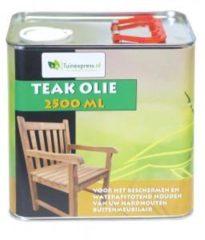 Transparante Teakolie - 2500 ML - Meuwissen Agro