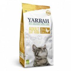 Yarrah Cat Biologische Brokken - Kip - Kattenvoer -10 KG