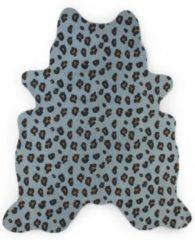 Childhome Leopard Vloerkleed Blauw 145 x 160 cm