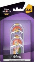 Disney Infinity 3.0 Power Discs - Zootropolis (4 Pack)