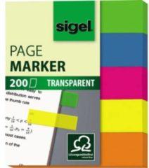 Sigel Plakmarker HN615 5 blokken/pak Geel, Roze, Blauw, Groen, Oranje
