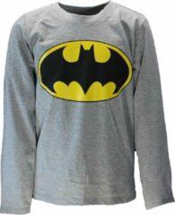Batman DC Comics Batman Logo Kinder Longsleeve Shirt Grijs N.v.t. Unisex T-shirt Maat 146/152