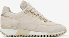 VIA VAI Giulia Bold Sneakers - Suede - Beige - Maat 39