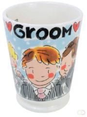 Blond mok mr groom