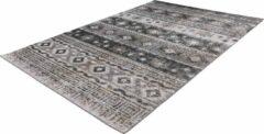 Ariya Kelim design vloerkleed Grijs - 80x150CM
