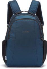 Pacsafe - Metrosafe LS350 Econyl Backpack 15 - Dagrugzak maat 15 l, zwart/blauw