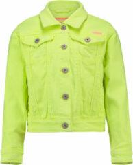Gele Vingino Denim Jacket Toscane Meisjes Spijkerjas 104