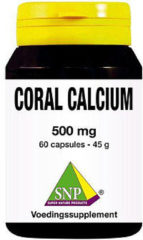 Snp Coral Calcium 500 Mg Capsules