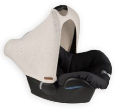 Zandkleurige Baby's Only Baby´s Only kap autostoeltje 0+ Classic zand