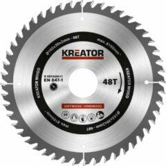 Kreator KRT020411 Zaagblad hout 165 mm - 48T