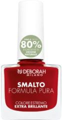 Deborah Milano Nr. 13 - Classic Red Smalto Formula Pura Nagellak 1 st