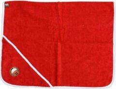 Feyenoord Hooded Babyhanddoek Logo, Rood, 75x75cm