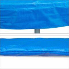Blauwe Relaxdays Trampoline beschermrand - rand afdekking - trampoline accessoires - 30 cm breed 427 cm