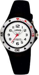 Lorus Young RRX41CX9 Horloge - Siliconen - Zwart - 28 mm