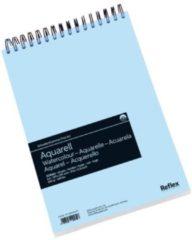 Witte Schoellershammer Reflex studioline aquarelpapier, 300gr, A4 spiraalblok, 30 vel