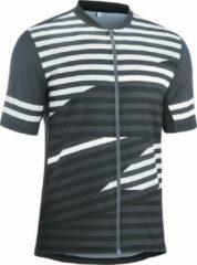 Gonso Fietsshirt - Maat L - Mannen - grijs/wit/zwart