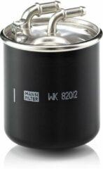 MANN FILTER Brandstoffilter WK820 / 2X