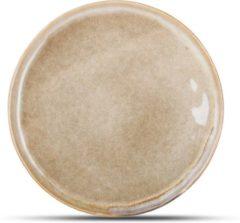 Yong Element Dessertbord Bruin 19,5 cm.