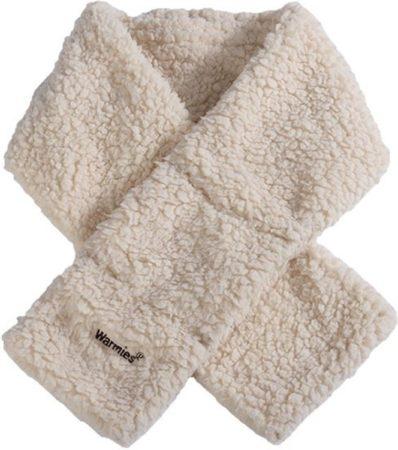 Afbeelding van Greenlife Value GmbH Warmies Warmte sherpa beige sjaal