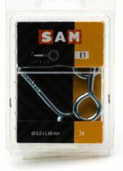 3x SAM Schroefoog 6x60mm 816924 E1