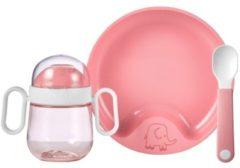Roze Mepal babyservies Mio 3-delig - deep pink