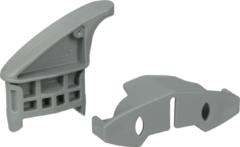 Whirlpool Halter für obere Korbschiene hinten für Geschirrspüler 165254, 00165254