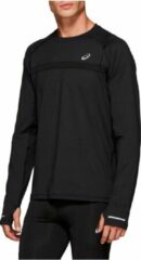 Zwarte Asics Thermo Lange Mouw Sportshirt