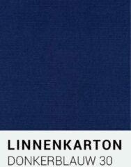 Linnenkarton notrakkarton Linnenkarton 30 Donkerblauw A4 240 gr.