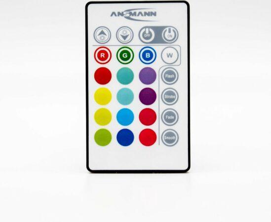 Afbeelding van Transparante Deuba Zwembadverlichting – 2 stuks – 16 kleuren – 4 lichteffecten – afstandsbediening