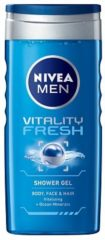 Nivea Men Vitality Fresh Douchegel Voordeelverpakking 6x250ml
