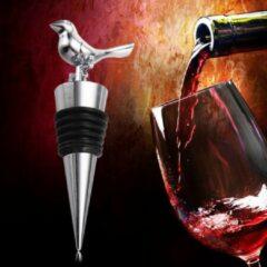 Roestvrijstalen AA Commerce Stijlvolle RVS Wijnstopper - Flessenstop / Wijnstop Voor Wijn - Wijnflesafsluiter