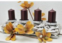 Kerzenhalter Margie HTI-Line Grau
