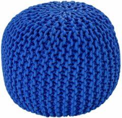 Blauwe Home24 Poef Cool Mesh, Obsession