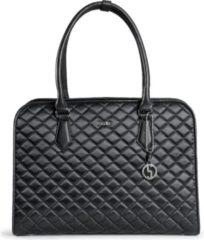 Zwarte SOCHA Dames Laptoptas Black Diamond 15.6 inch