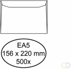 Bruna Envelop Hermes bank EA5 156x220mm wit 500stuks