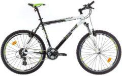 26 Zoll Herren Mountainbike 24 Gang Bikesport All Carter Marlin schwarz-weiß