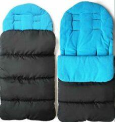 Sandesen Slaapzak voor peuter- Kinderwagens -Buggy comfortabel, blauw