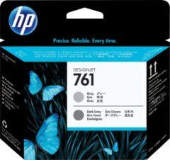 Grijze HP 761 - Inktcartridge / Grijs / Donkergrijs (CH647A)