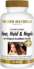 Golden Naturals Haar, Huid & Nagels (180 vegetarische capsules)