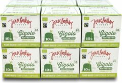 Jones Brothers Coffee composteerbare koffiecups Gigolo - 12 x 10 cups