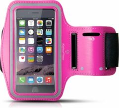 #DoYourFitness - Sportarmband - »RunnerMan« - Sportarmband geschikt voor mobiele telefoon - MEDIUM (146x74x10 - 155x8x10mm) 60CM armomvang - marineblauw