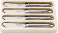 Roestvrijstalen Botermessen - Roestvrij Staal - Set van 4 - Laguiole Style de Vie