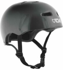 Zwarte TSG Skate/BMX Injected Black bmx/skate helm