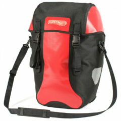 Ortlieb - Bike-Packer Classic - Bagagedragertas maat 20 l, zwart/rood