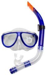 Blauwe Waimea Duikmasker met Snorkel Senior