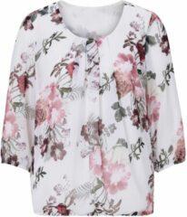 Naturelkleurige Lady blouse zonder sluiting