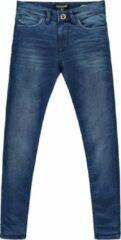 Cars Jeans Jongens Jog Jeans BURGO slim fit - Dark Used - Maat 110